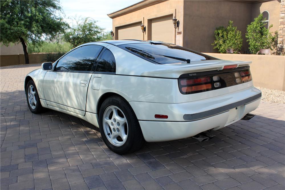 1990 Nissan 300ZX rear 3/4