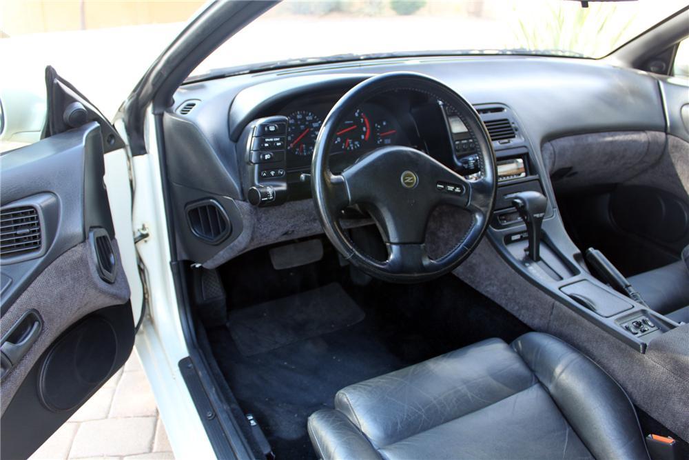 1990 Nissan 300ZX interior