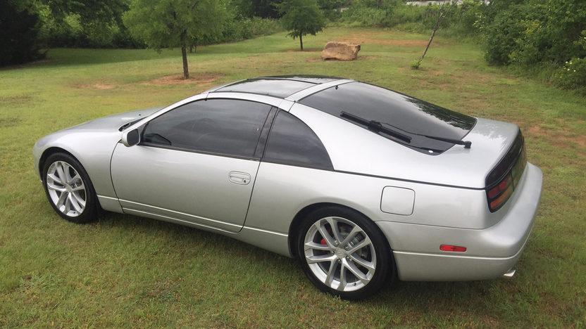 1993 Nissan 300ZX rear 3/4
