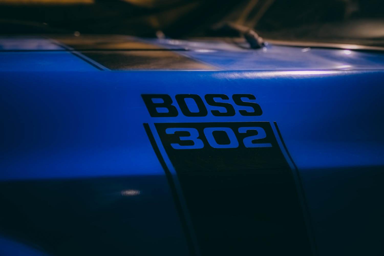 Mustang Boss 302 decal