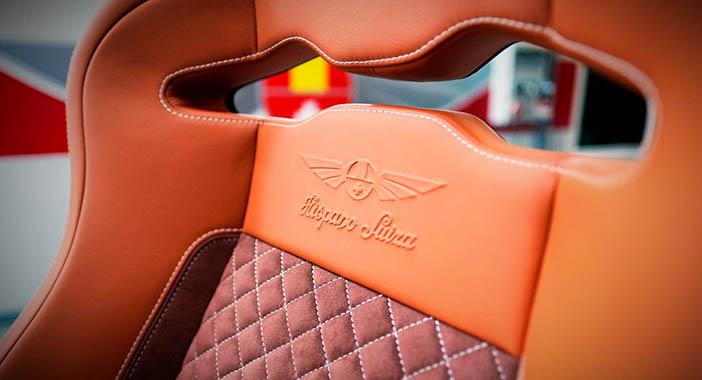 Hispano-Suiza Carmen seat detail