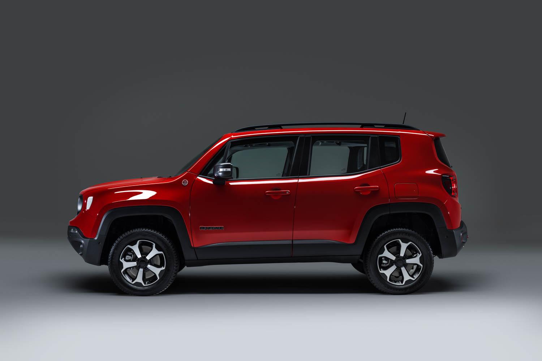 Jeep Renegade Plug-in Hybrid profile