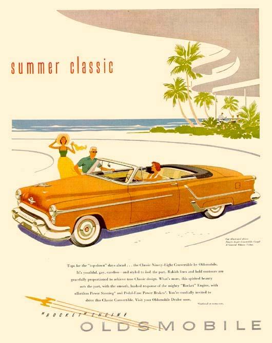 Oldsmobile summer classic ad