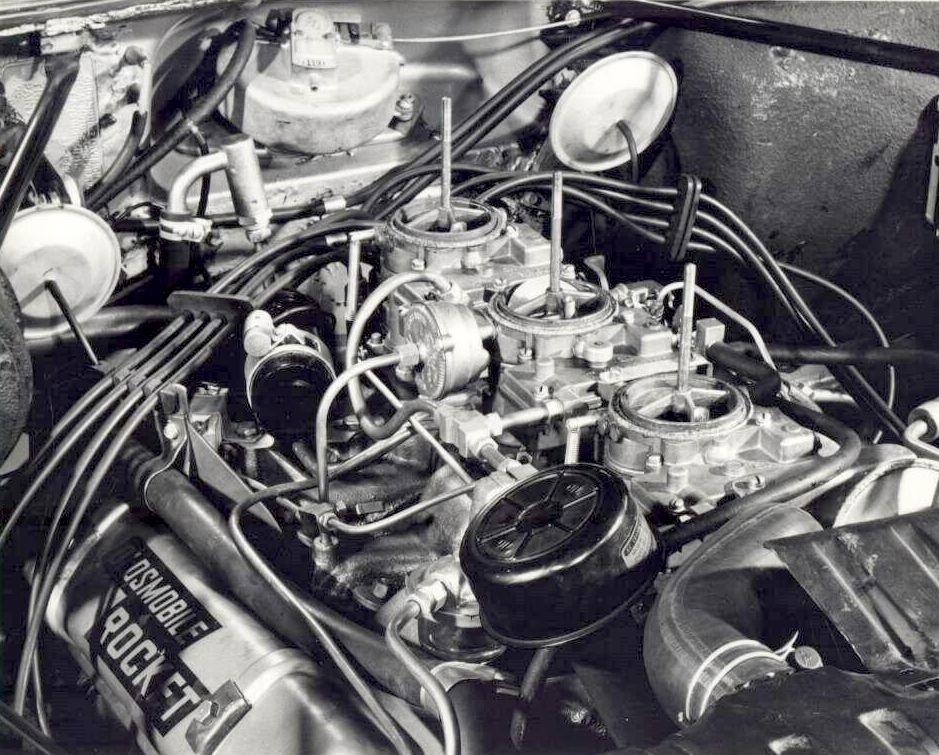 Oldsmobile Rocket OHV engine