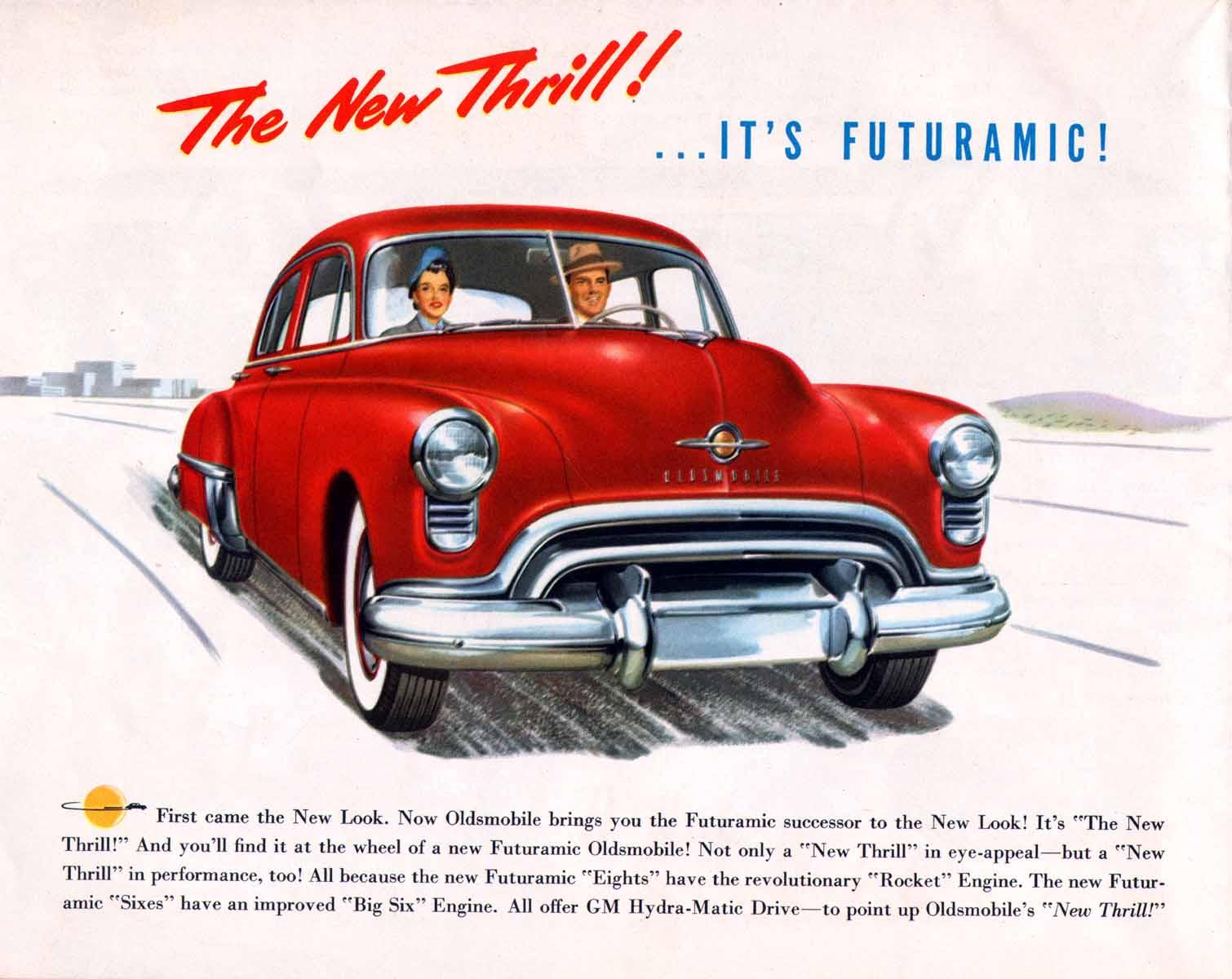 Oldsmobile advertisement