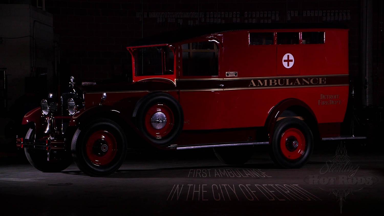 1927 Packard ambulance