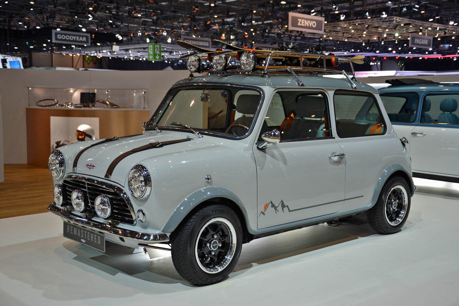 David Brown Automotive Mini Remastered front 3/4
