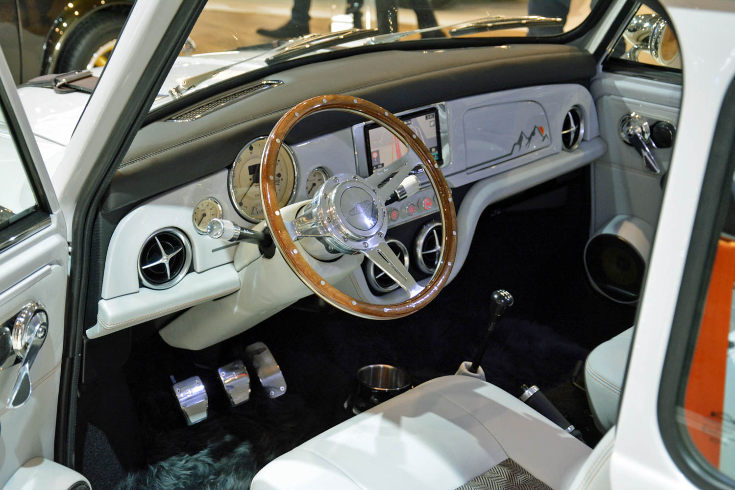 David Brown Automotive Mini Remastered dash