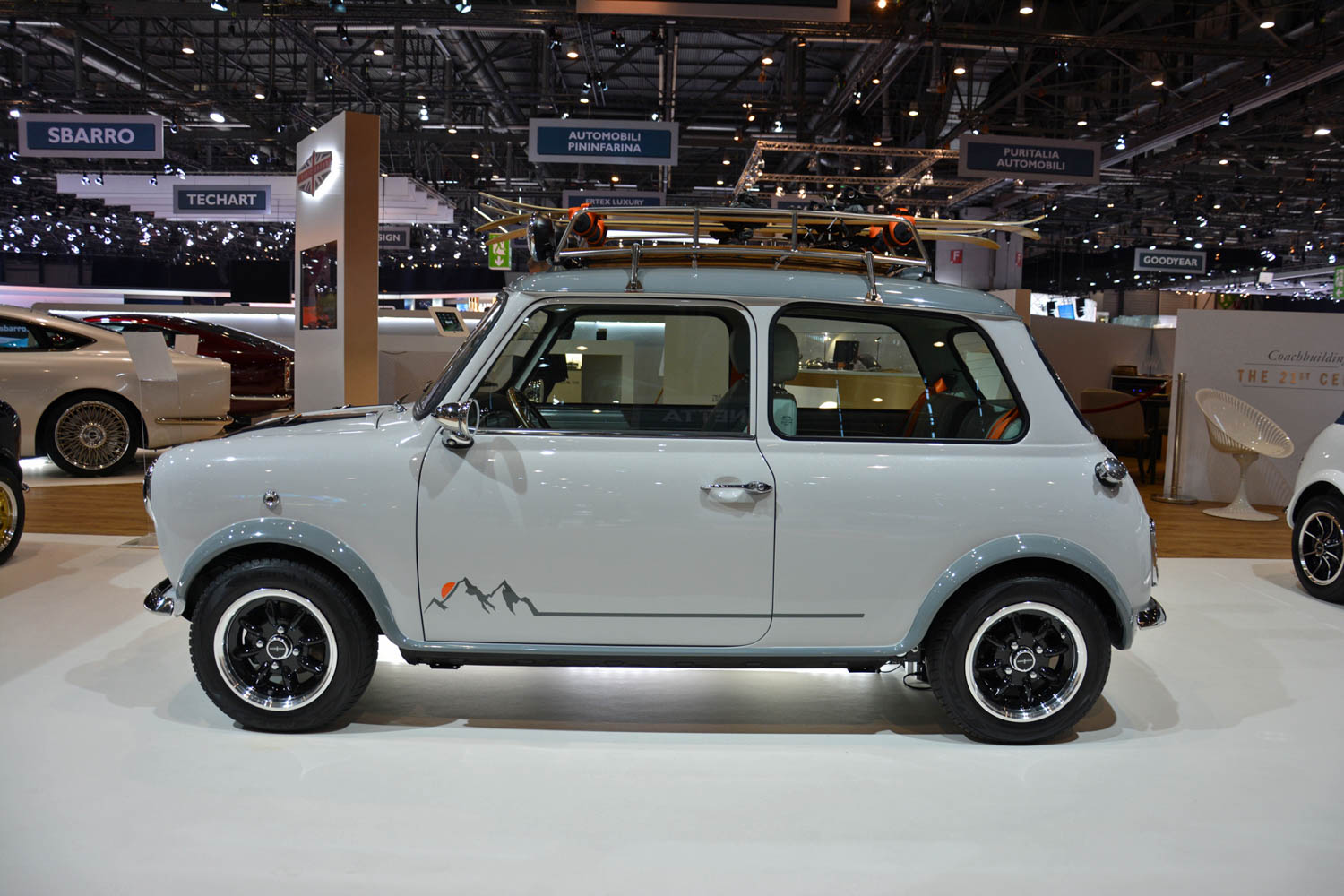 David Brown Automotive Mini Remastered side profile