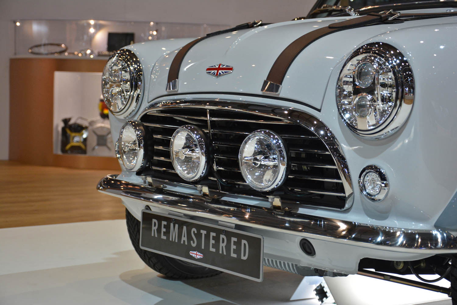 David Brown Automotive Mini Remastered grille