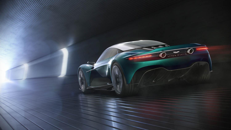 Aston Martin Vanquish Vision Concept rear 3/4