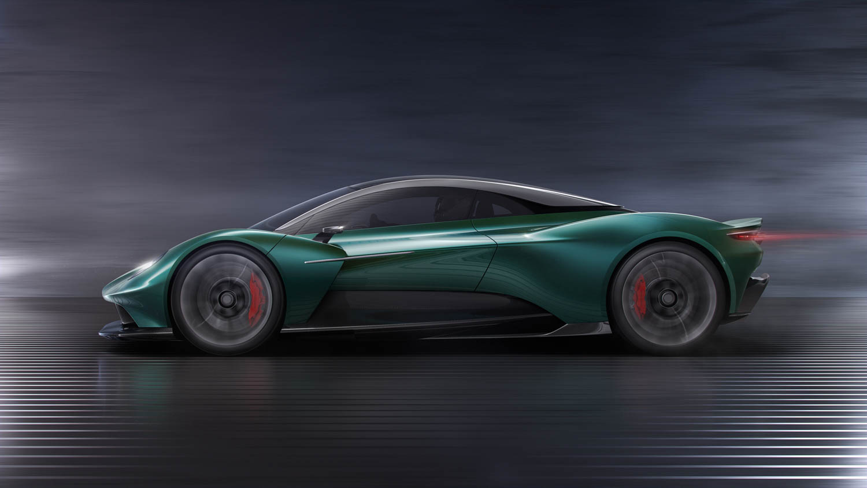 Aston Martin Vanquish Vision Concept side profile