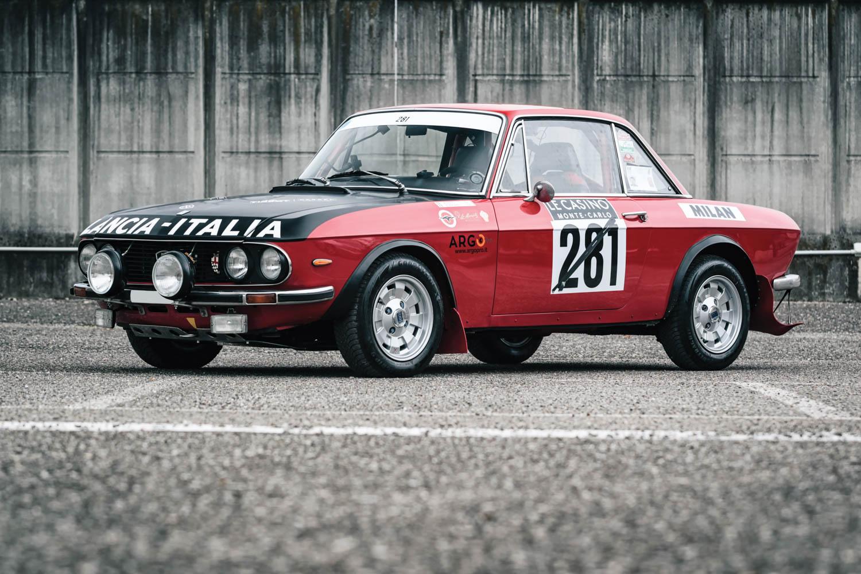 "1971 Lancia Fulvia Coupe Rally 1.3 HF ""Fanalone"""