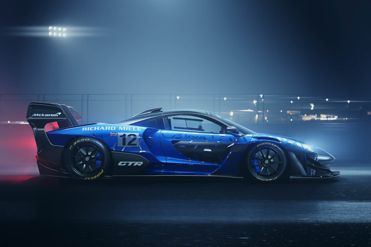 McLaren Senna GTR side profile