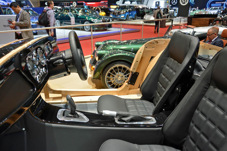 Morgan CX Platform interior