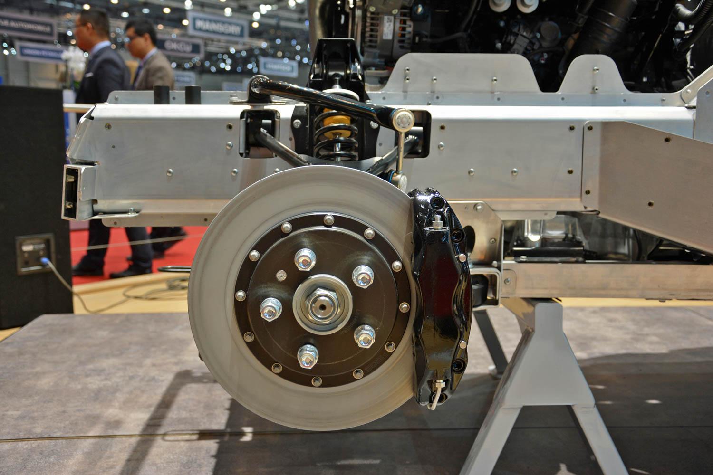 Morgan CX Platform brakes
