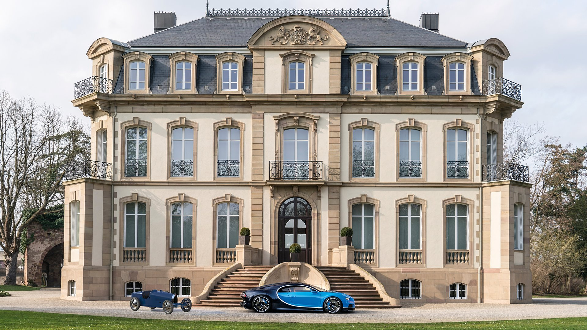 Bugatti Baby II chiron mansion