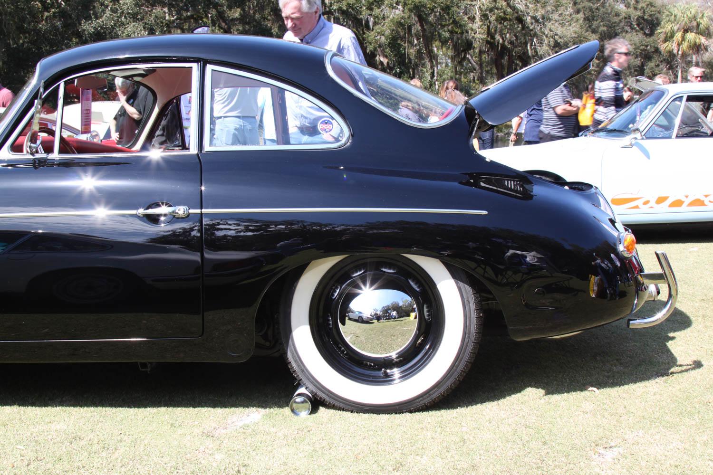 1963 Porsche 356 wheel detail
