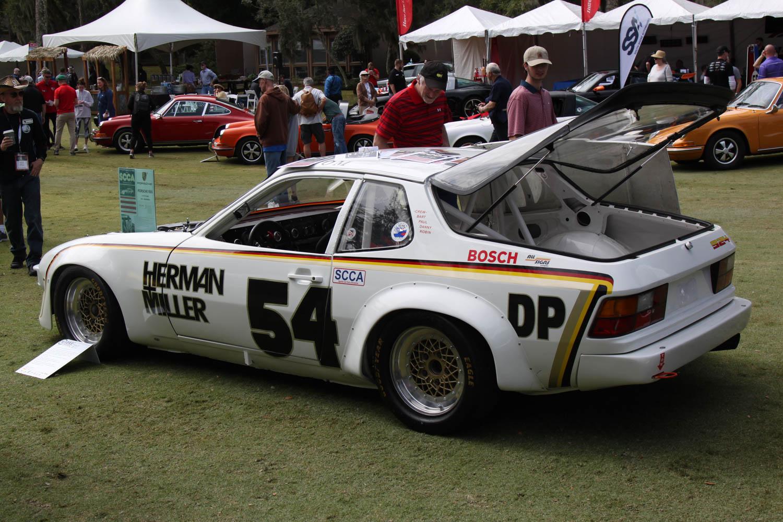 Porsche 924 race car rear