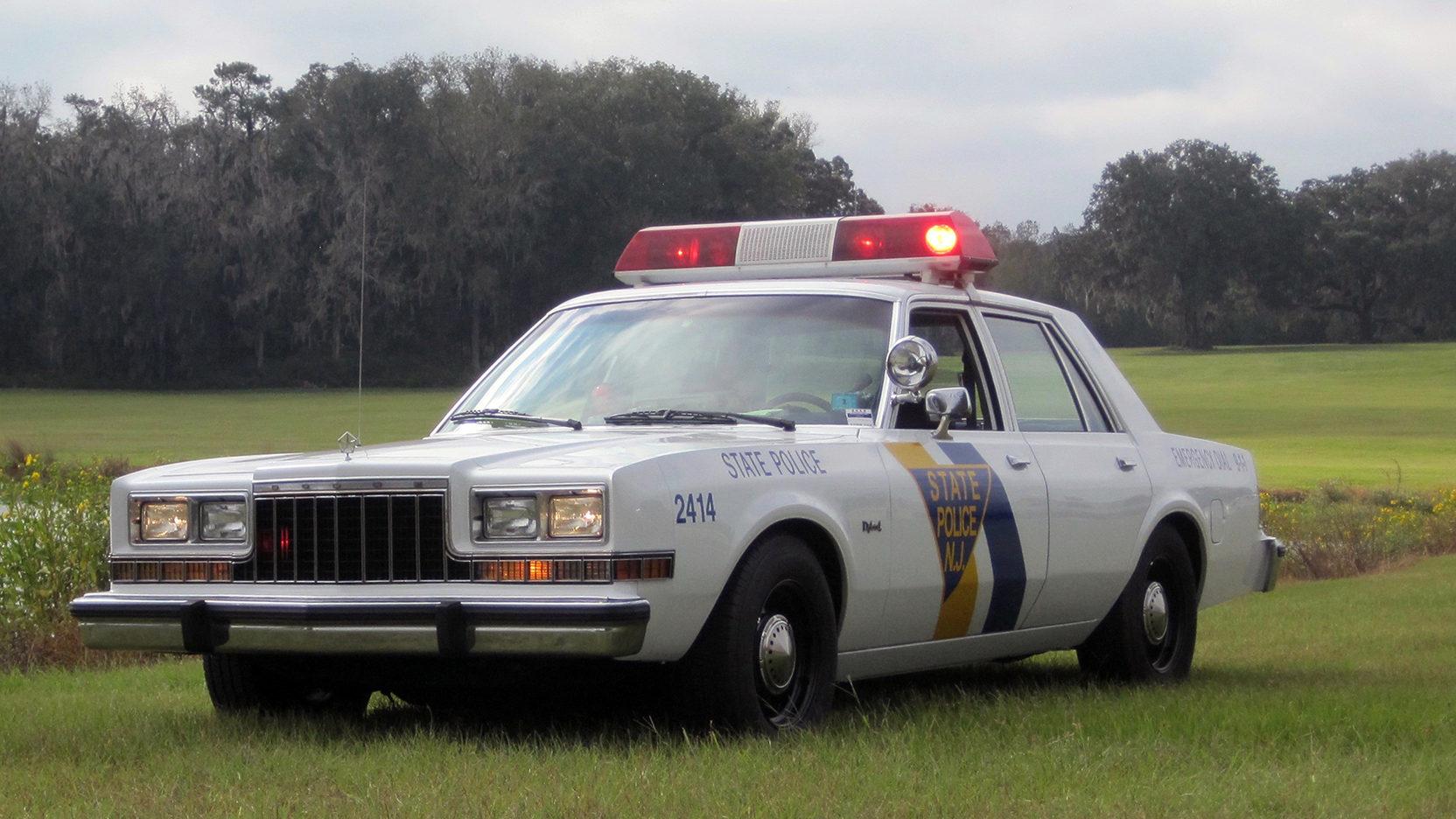 """1986 Dodge Diplomat """"State Trooper"""""""