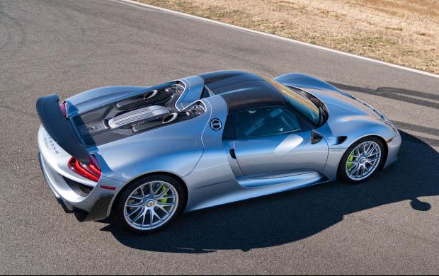 2015 Porsche 918 Spyder Weissach Roadster