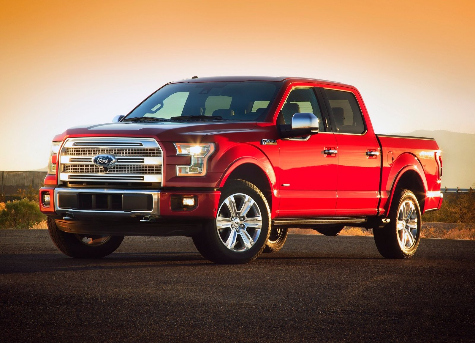 2015 and newer Ford F-150 pickups utilize aluminum in their body and structure to save weight.