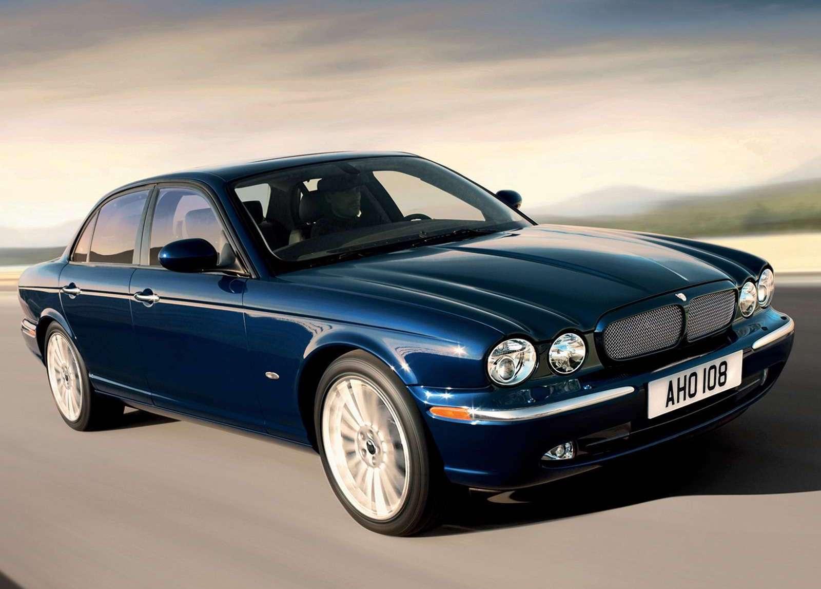 2006 Jaguar XJ aluminum body structure
