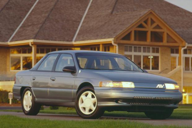 1994 Mercury Sable AIV 3/4 front