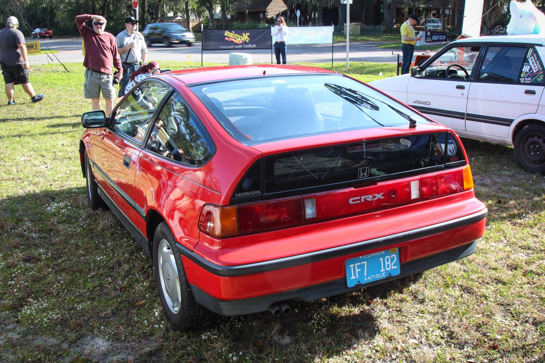 1988 Honda CRX SI 3/4 rear