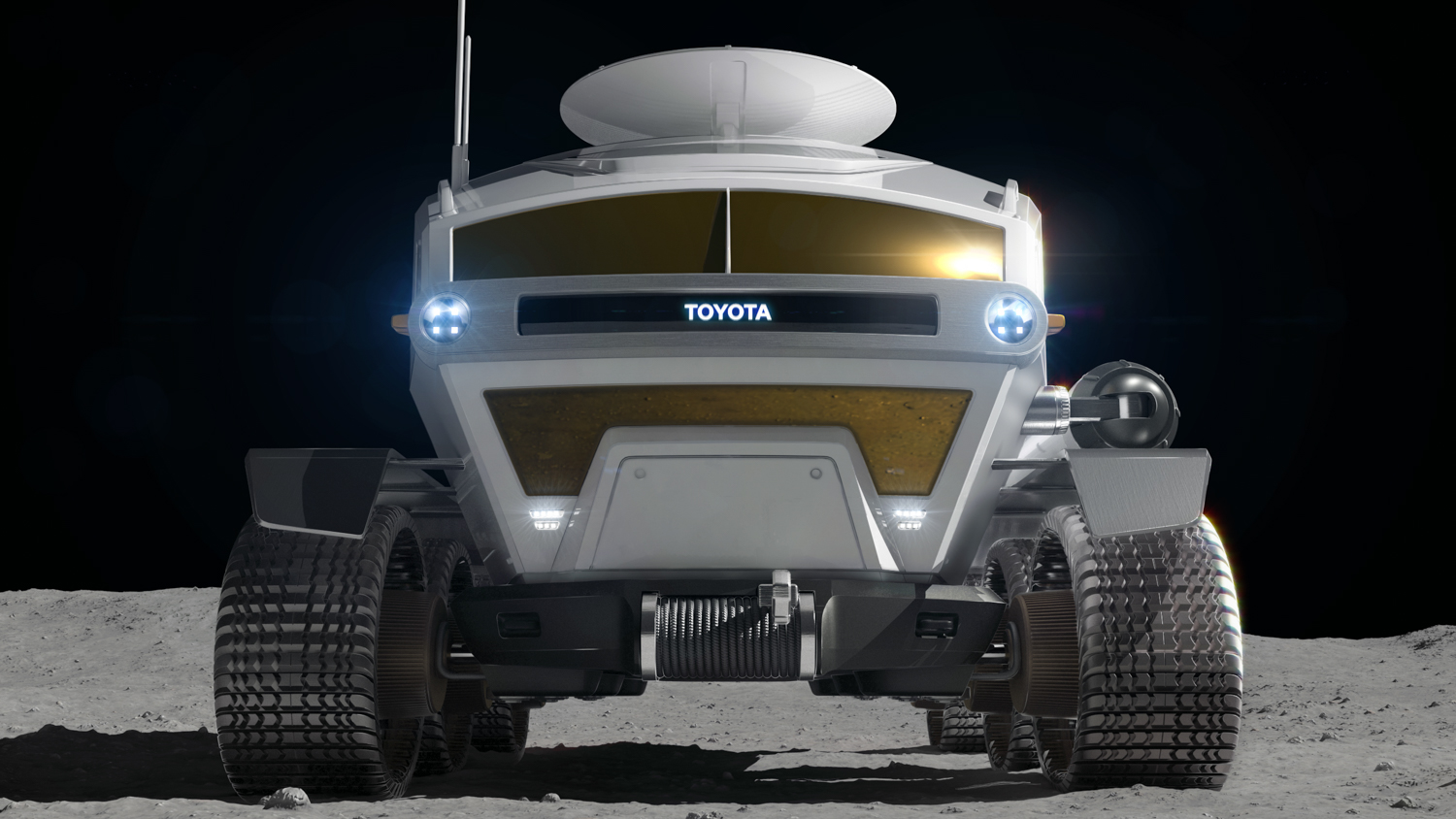 Toyota Pressurized Moon Rover concept front