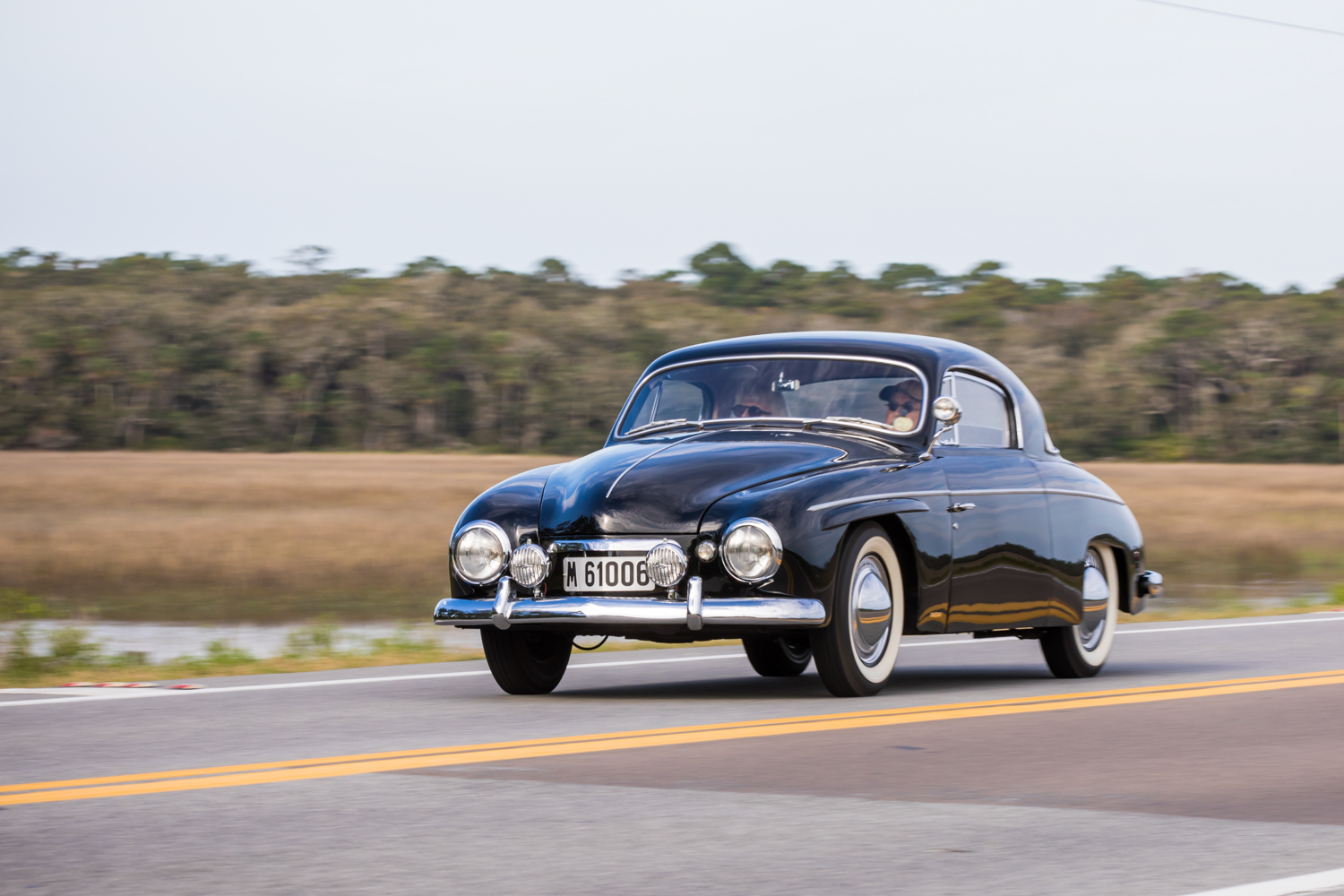 1954 Rometsch Beeskow Coupe on road