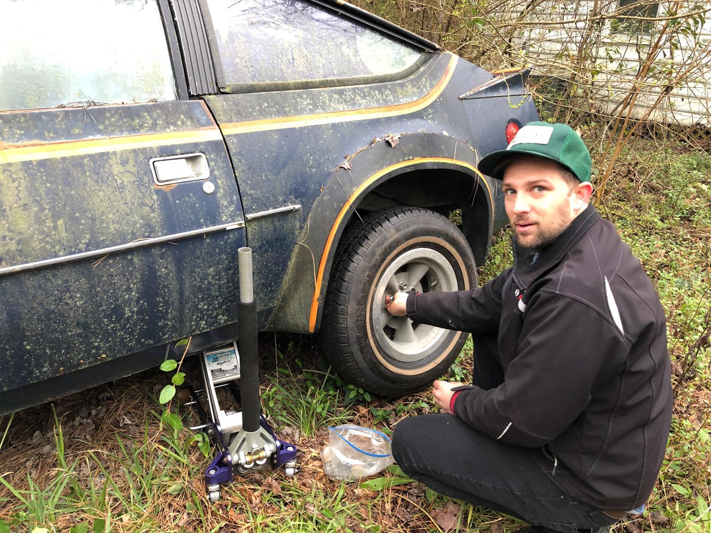 Derelict amc amx wheels