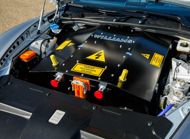 Aston Martin Rapide E battery powered engine