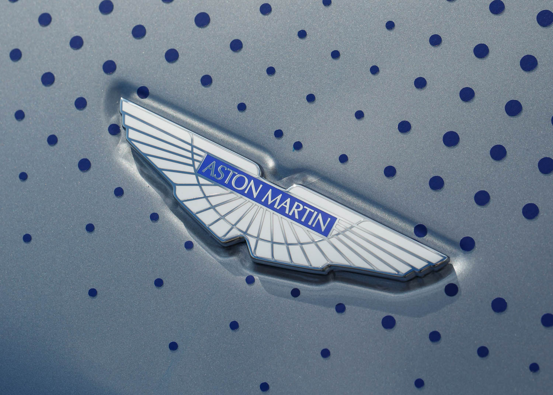 Aston Martin hood emblem