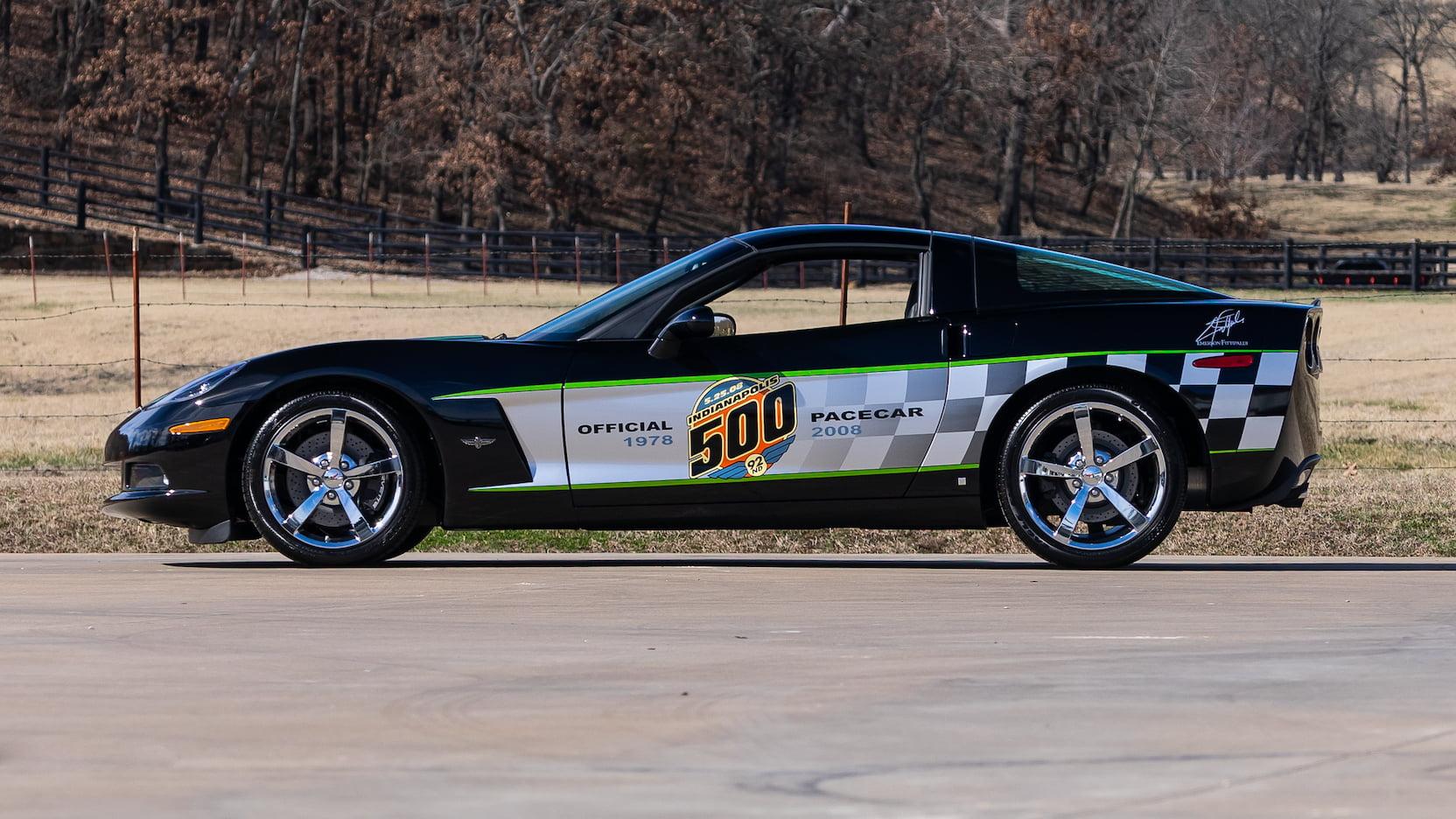 2008 Chevrolet Corvette Pace Car Edition Coupe