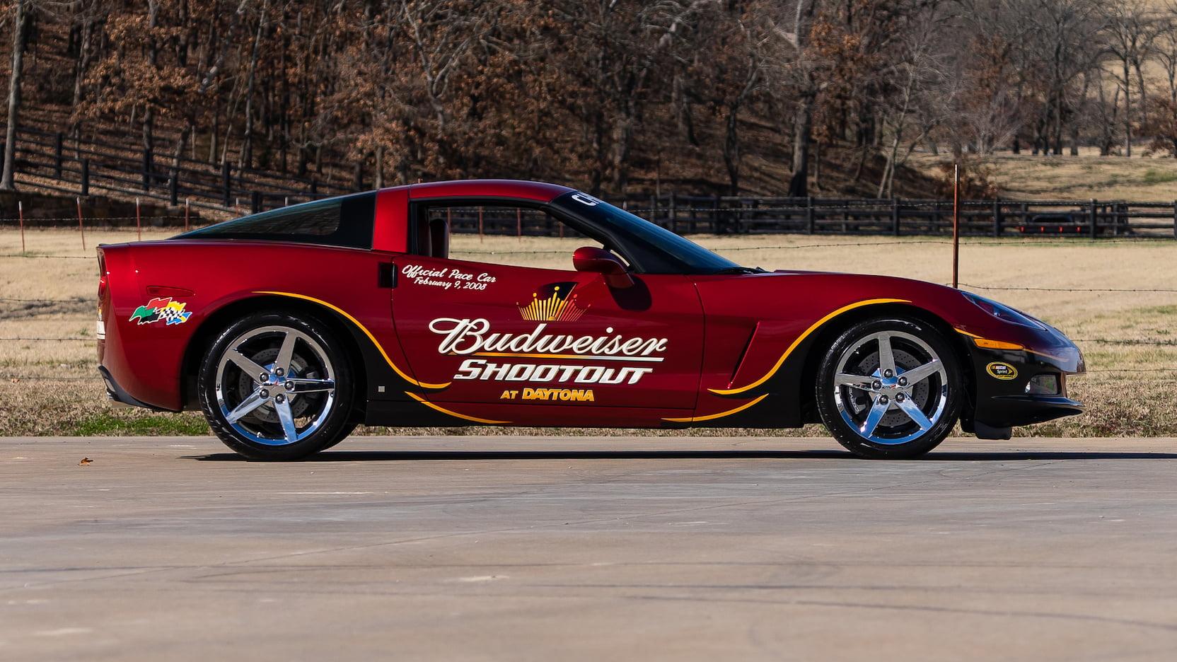 Budweiser 2008 Chevrolet Corvette Daytona Pace Car