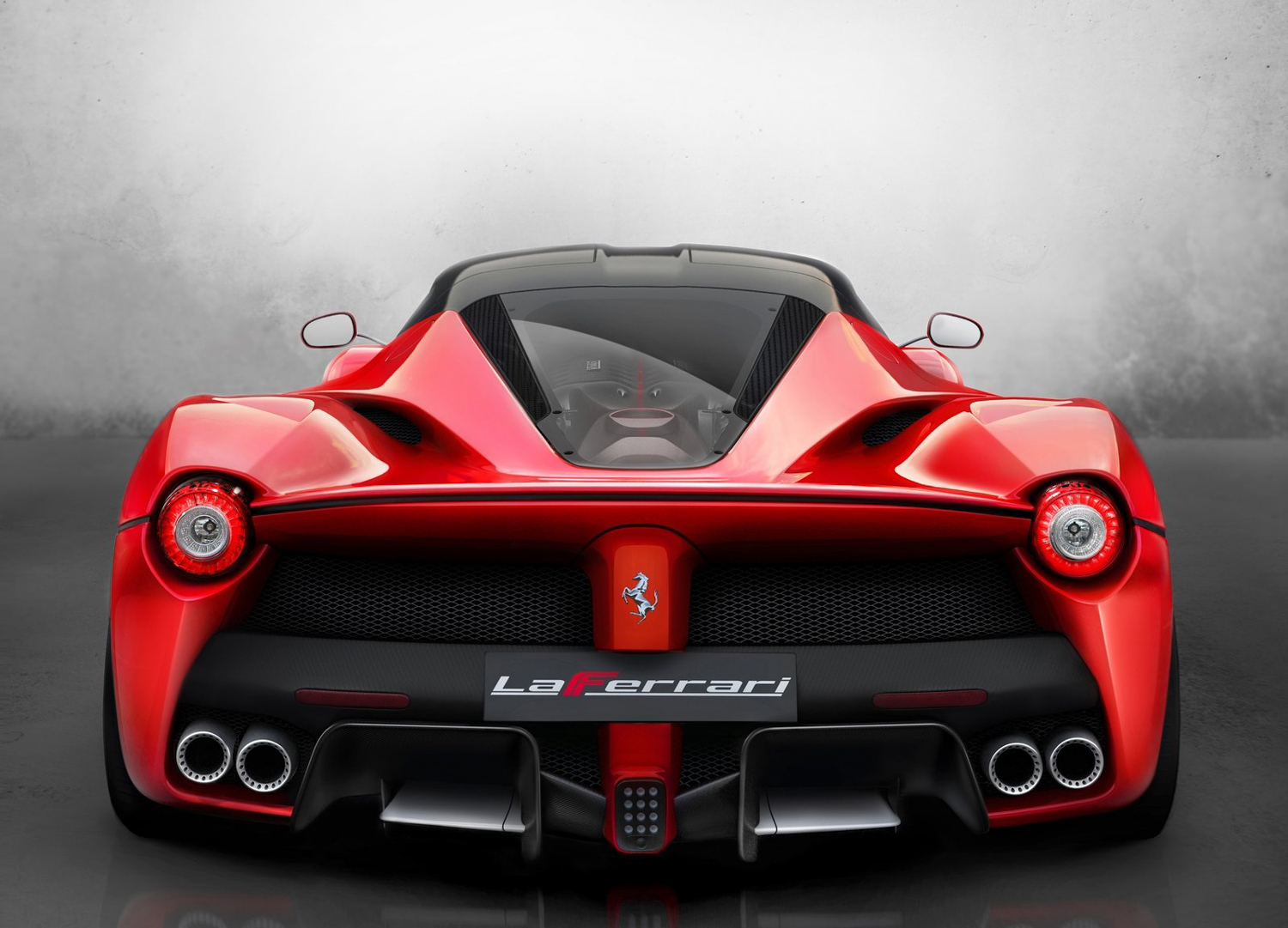 2014 Ferrari LaFerrari front doors up