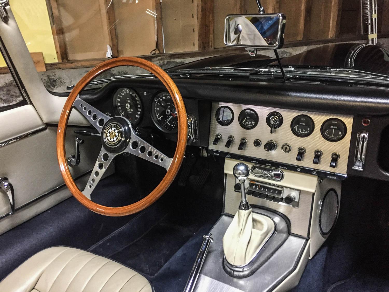 Fluevog Jaguar E-type interior