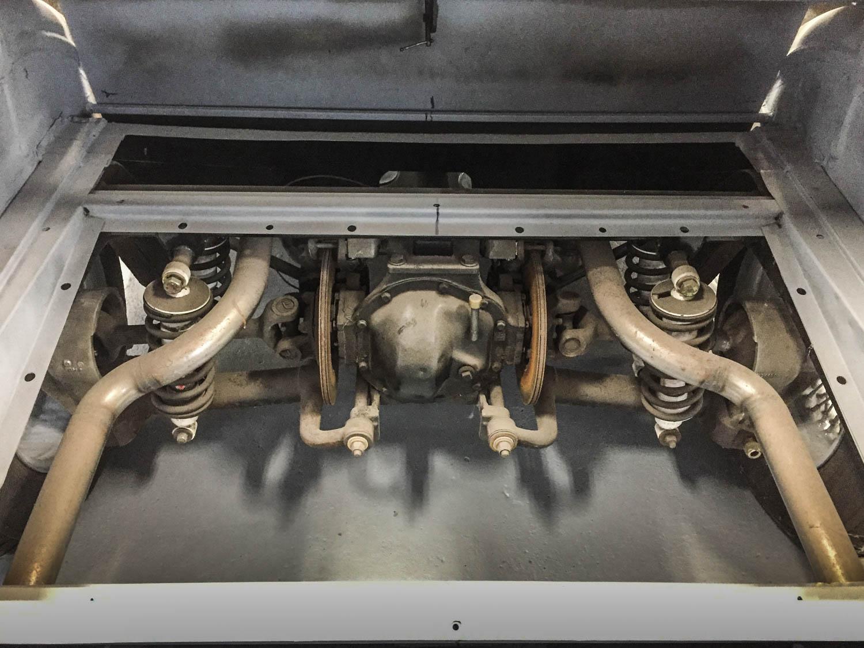 Fluevog Jaguar suspention