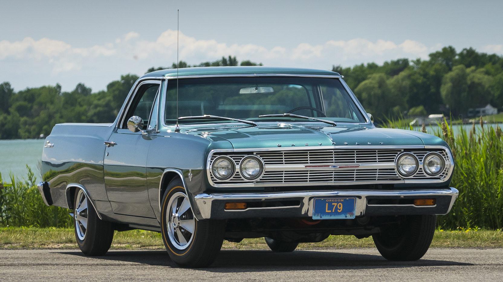 1965 Chevrolet El Camino  3/4 front