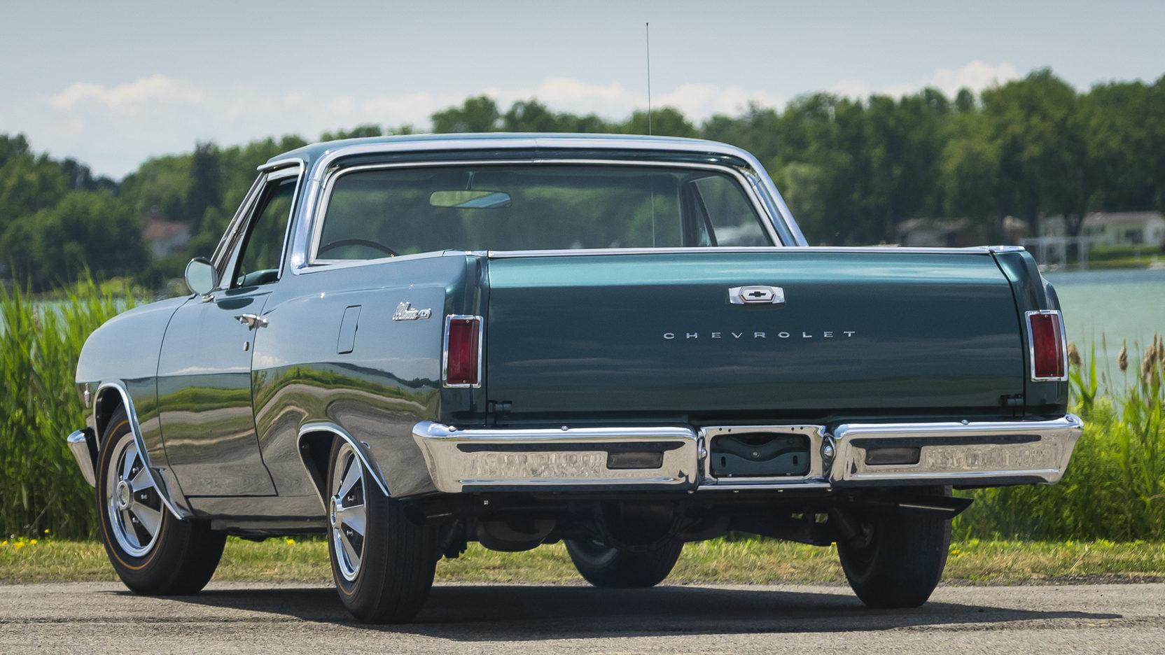 1965 Chevrolet El Camino3/4 rear