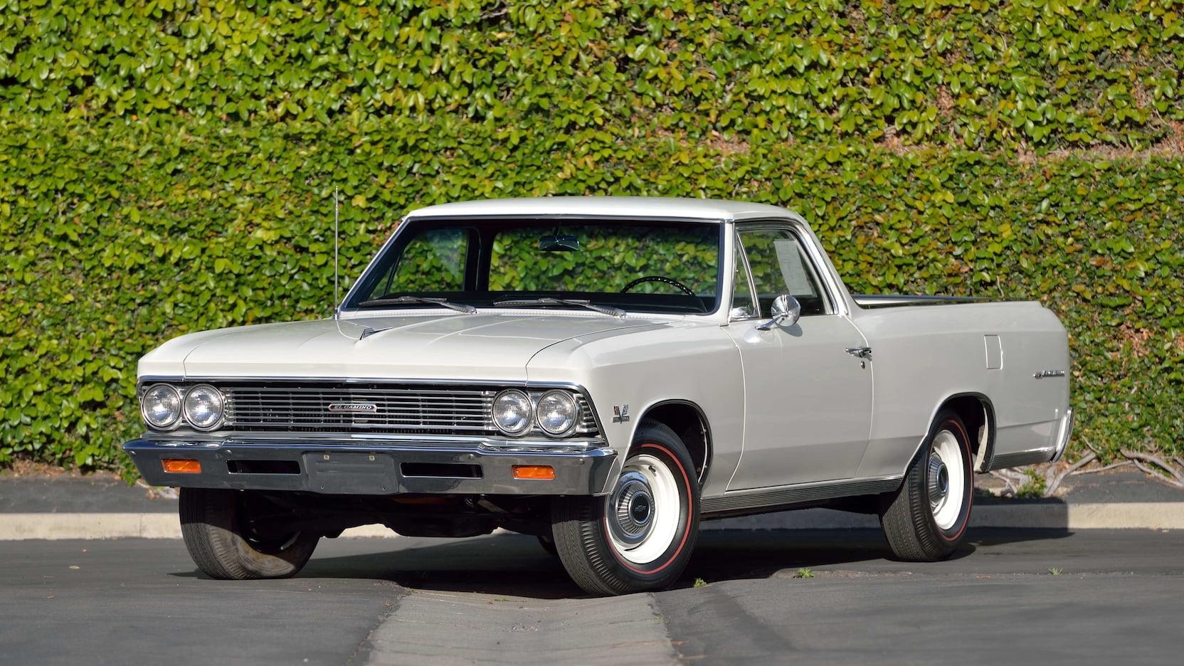 1966 Chevrolet El Camino 3/4 front