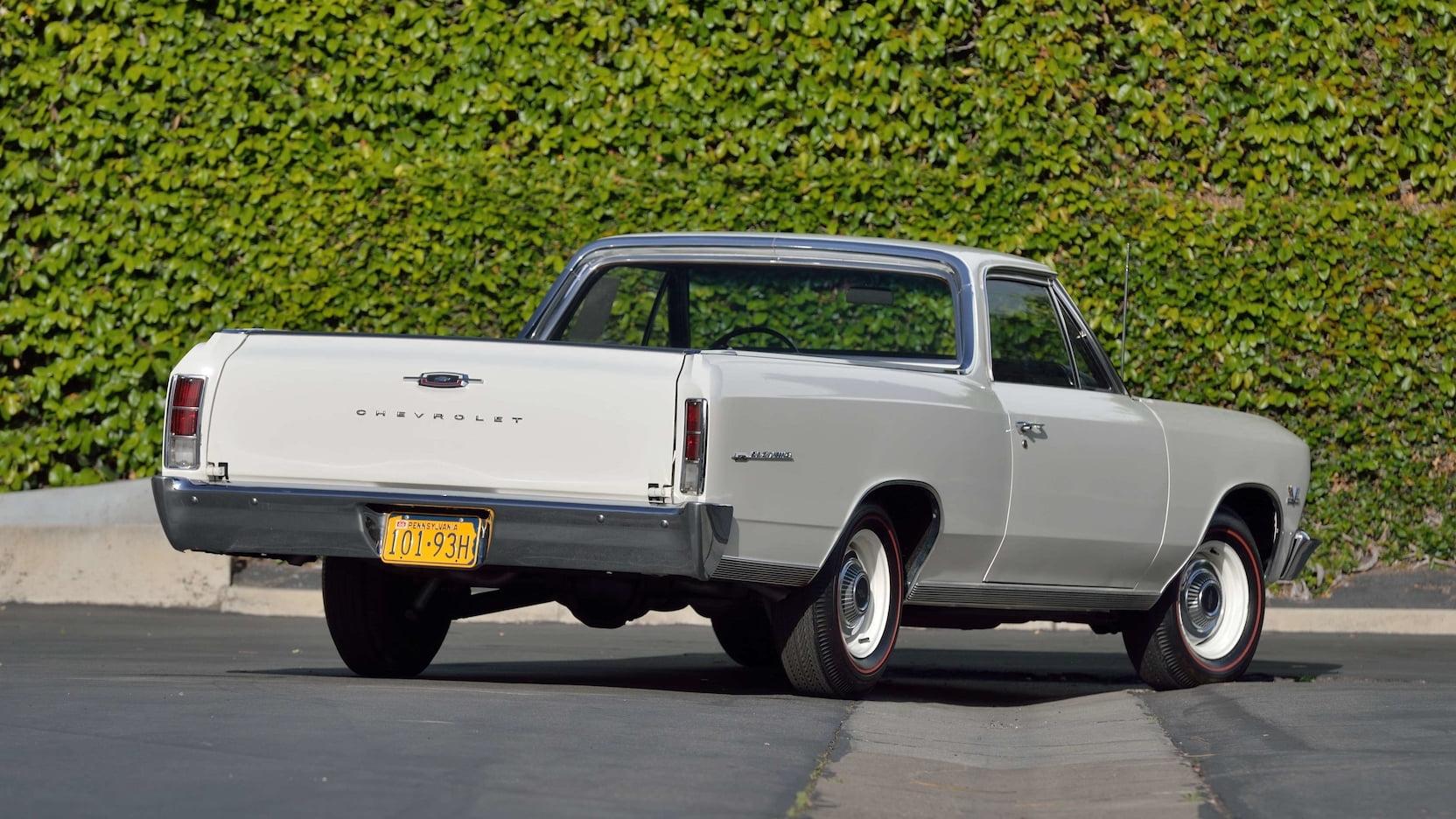 1966 Chevrolet El Camino 3/4 rear