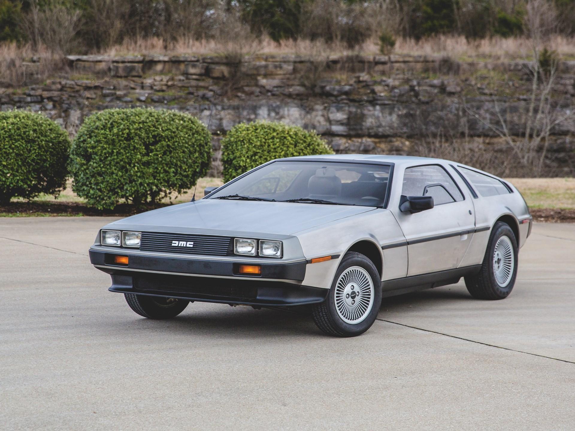 1981 DeLorean DMC-12 3/4 Front