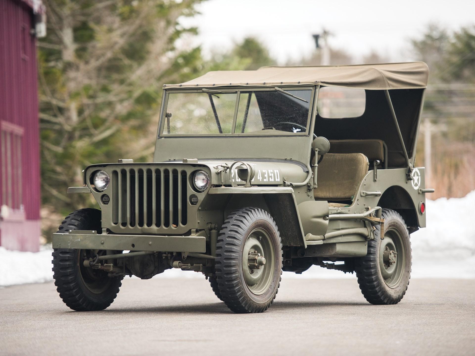 1943 Ford GPW Army Jeep