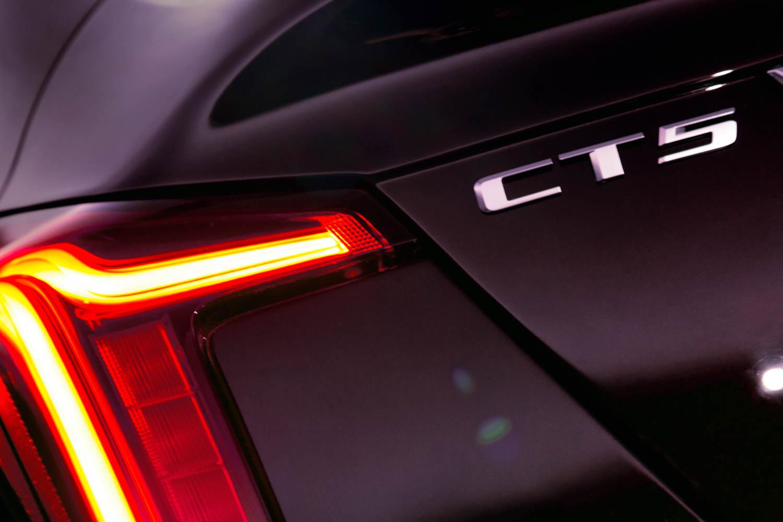 2020 Cadillac CT5 Premium Luxury badge