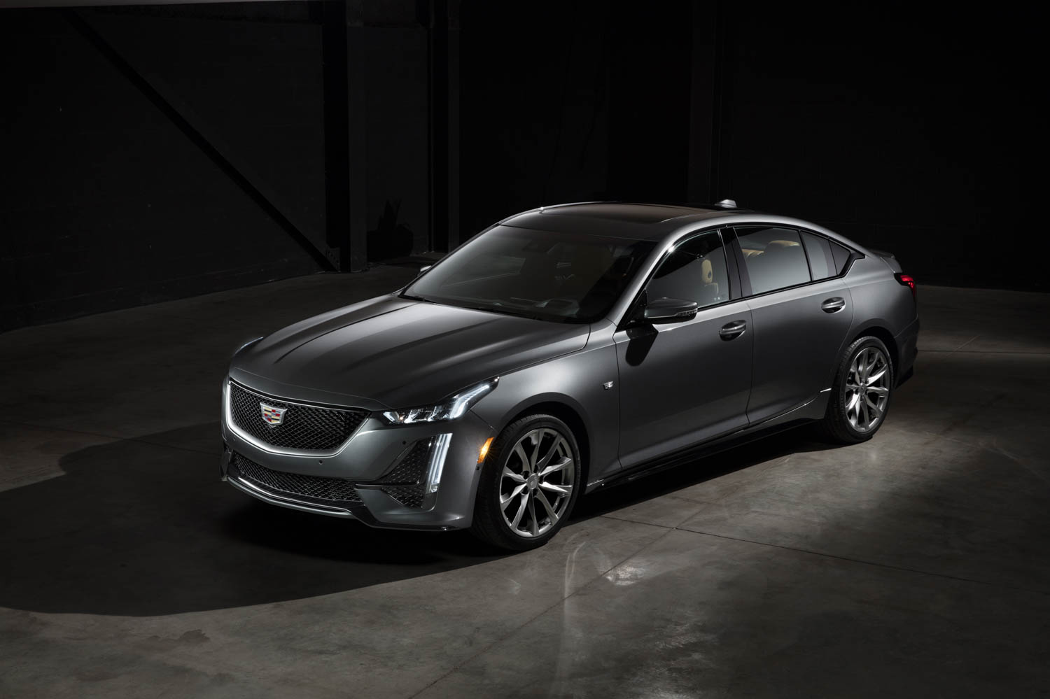 2020 Cadillac CT5 Sport front 3/4