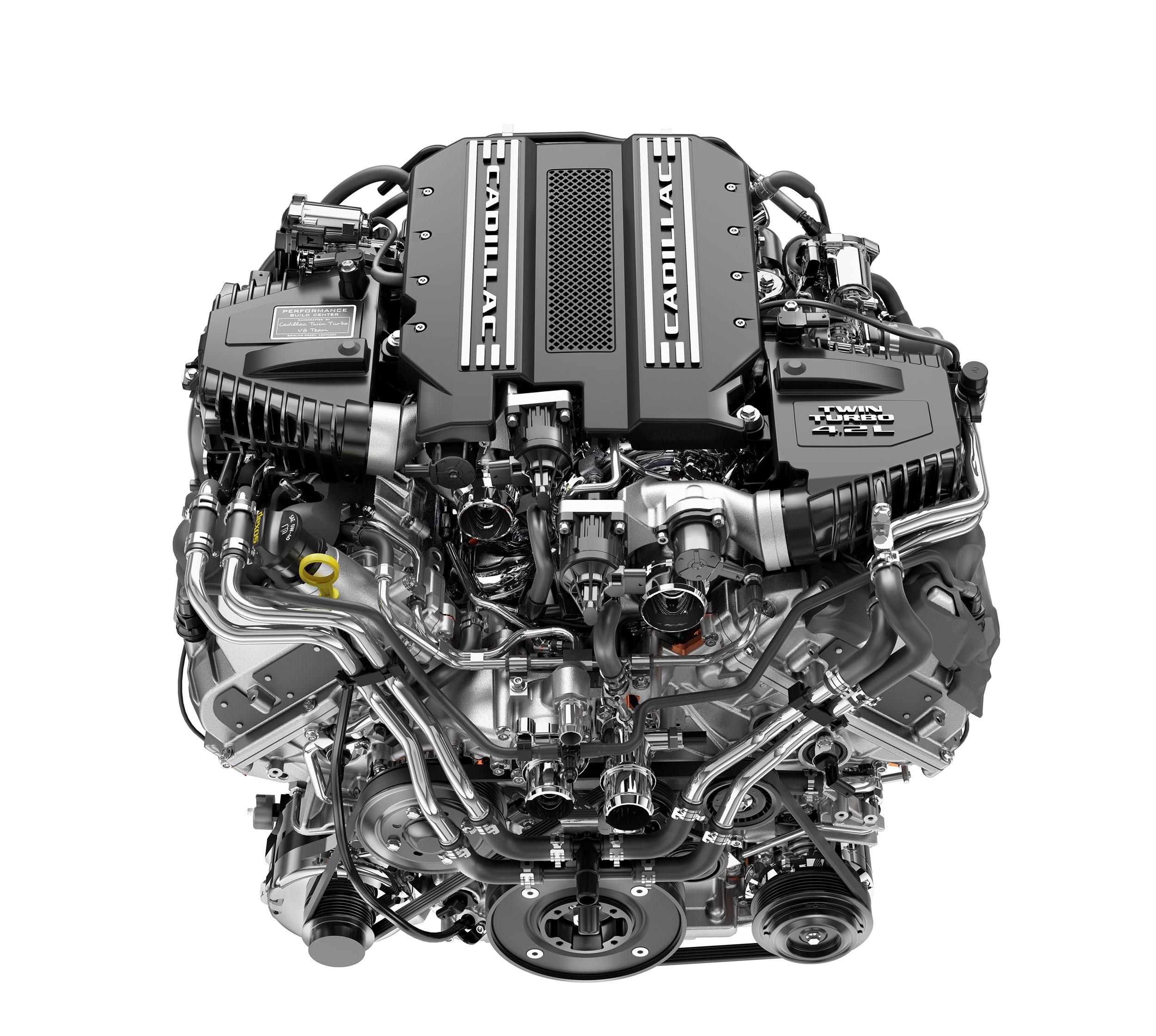 Cadillac CT6 V-Sport 4.2L Twin Turbo V-8 front