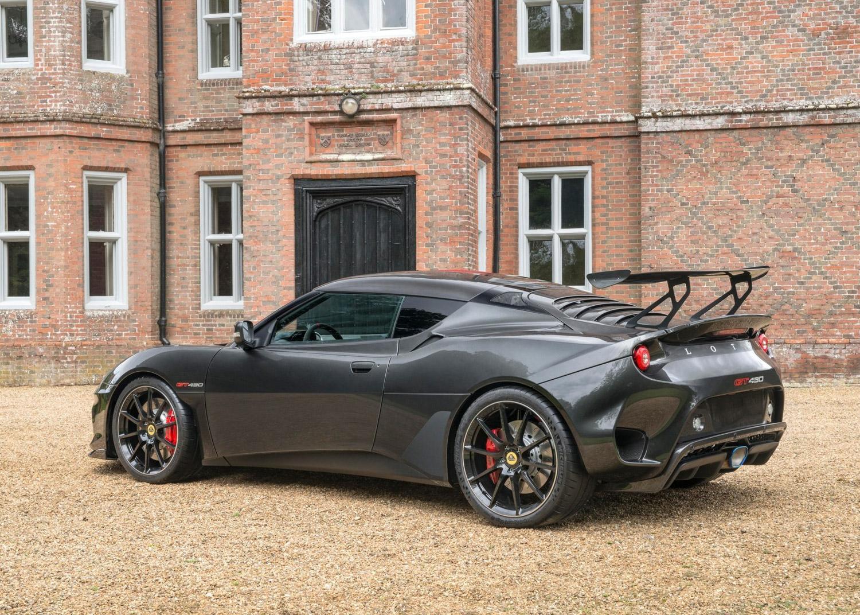 2018 Lotus Evora GT430 3/4 rear
