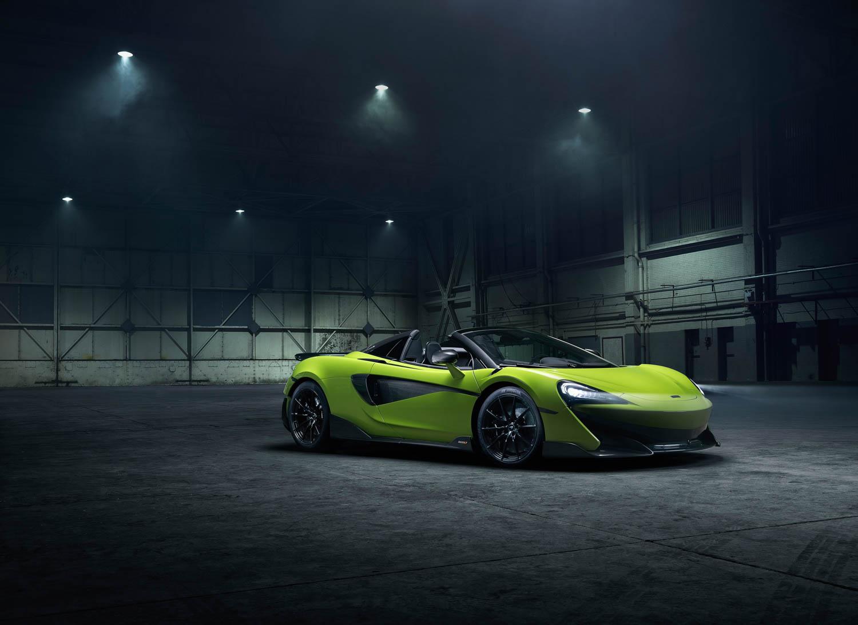 McLaren 600LT Spider front 3/4